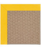 RugStudio presents Capel Zoe-Grassy Mountain 108422 Summertime Yellow Area Rug