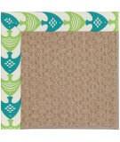 RugStudio presents Capel Zoe-Grassy Mountain 108394 Angel Fish Green Hand-Tufted, Best Quality Area Rug
