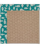 RugStudio presents Capel Zoe-Grassy Mountain 108420 Sea Green Hand-Tufted, Best Quality Area Rug