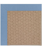 RugStudio presents Capel Zoe-Grassy Mountain 108417 Medium Blue Area Rug