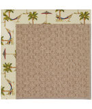 RugStudio presents Capel Zoe-Grassy Mountain 108396 Beige Area Rug