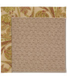 RugStudio presents Capel Zoe-Grassy Mountain 55753 Tropical/Taupe Machine Woven, Best Quality Area Rug
