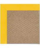RugStudio presents Capel Zoe-Raffia 108464 Summertime Yellow Area Rug