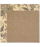 RugStudio presents Capel Zoe-Raffia 55820 Carbon/Ivory Machine Woven, Best Quality Area Rug