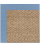 RugStudio presents Capel Zoe-Raffia 108458 Medium Blue Area Rug