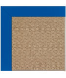 RugStudio presents Capel Zoe-Raffia 108461 Reef Blue Area Rug