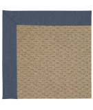 RugStudio presents Capel Zoe-Raffia 67184 Blue Jean Machine Woven, Good Quality Area Rug