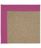 RugStudio presents Capel Zoe-Raffia 67187 Fuchsia Machine Woven, Good Quality Area Rug