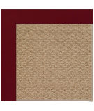 RugStudio presents Capel Zoe-Raffia 108465 Wine Area Rug
