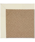 RugStudio presents Capel Zoe-Raffia 55872 Alabaster/Tan Machine Woven, Best Quality Area Rug