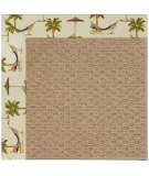 RugStudio presents Capel Zoe-Raffia 108449 Beige Area Rug
