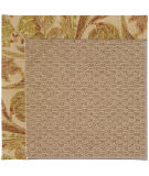 RugStudio presents Capel Zoe-Raffia 55876 Tropic/Tan Machine Woven, Best Quality Area Rug