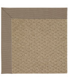 RugStudio presents Capel Zoe-Raffia 67188 Medium Brown Machine Woven, Good Quality Area Rug
