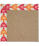RugStudio presents Capel Zoe-Raffia 108448 Autumn Area Rug