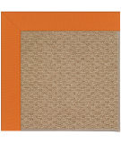 RugStudio presents Capel Zoe-Raffia 108453 Clementine Hand-Tufted, Best Quality Area Rug