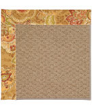 RugStudio presents Capel Zoe-Raffia 55901 Bronze/Tan Machine Woven, Best Quality Area Rug