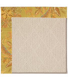 RugStudio presents Capel Zoe-White Wicker 56042 Machine Woven, Best Quality Area Rug
