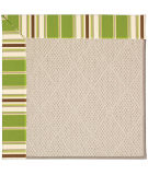 RugStudio presents Capel Zoe-White Wicker 56046 Machine Woven, Best Quality Area Rug