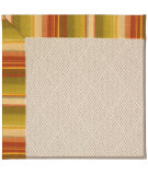 RugStudio presents Capel Zoe-White Wicker 56052 Machine Woven, Best Quality Area Rug