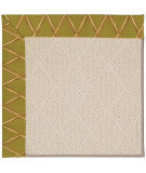 RugStudio presents Capel Zoe-White Wicker 56060 Machine Woven, Best Quality Area Rug