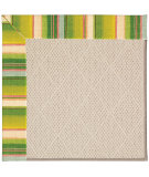 RugStudio presents Capel Zoe-White Wicker 56061 Machine Woven, Best Quality Area Rug
