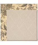 RugStudio presents Capel Zoe-White Wicker 56066 Carbon/Wicker Machine Woven, Best Quality Area Rug