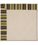 RugStudio presents Capel Zoe-White Wicker 56074 Machine Woven, Best Quality Area Rug