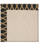 RugStudio presents Capel Zoe-White Wicker 56075 Machine Woven, Best Quality Area Rug