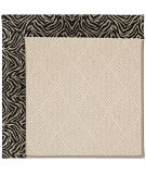 RugStudio presents Capel Zoe-White Wicker 56083 Machine Woven, Best Quality Area Rug
