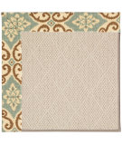 RugStudio presents Capel Zoe-White Wicker 56084 Machine Woven, Best Quality Area Rug