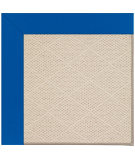 RugStudio presents Capel Zoe-White Wicker 108523 Reef Blue Area Rug
