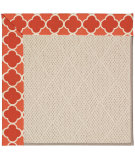RugStudio presents Capel Zoe-White Wicker 56106 Machine Woven, Best Quality Area Rug