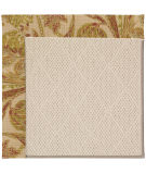 RugStudio presents Capel Zoe-White Wicker 56122 Tan/Tropical Machine Woven, Best Quality Area Rug