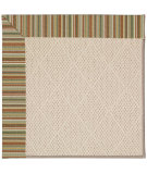 RugStudio presents Capel Zoe-White Wicker 56124 Machine Woven, Best Quality Area Rug
