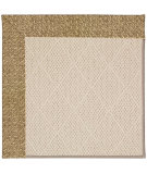 RugStudio presents Capel Zoe-White Wicker 56125 Machine Woven, Best Quality Area Rug