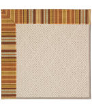 RugStudio presents Capel Zoe-White Wicker 56130 Machine Woven, Best Quality Area Rug