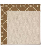 RugStudio presents Capel Zoe-White Wicker 56132 Machine Woven, Best Quality Area Rug