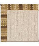 RugStudio presents Capel Zoe-White Wicker 56134 Machine Woven, Best Quality Area Rug