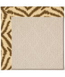 RugStudio presents Capel Zoe-White Wicker 56135 Machine Woven, Best Quality Area Rug