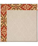 RugStudio presents Capel Zoe-White Wicker 56142 Machine Woven, Best Quality Area Rug