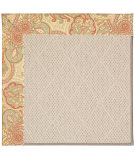 RugStudio presents Capel Zoe-White Wicker 56143 Machine Woven, Best Quality Area Rug