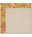 RugStudio presents Capel Zoe-White Wicker 56147 Machine Woven, Best Quality Area Rug