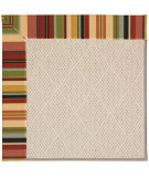 RugStudio presents Capel Zoe-White Wicker 56155 Machine Woven, Best Quality Area Rug