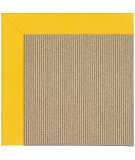 RugStudio presents Capel Zoe-Sisal 108483 Summertime Yellow Area Rug