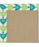 RugStudio presents Capel Zoe-Sisal 108466 Angel Fish Green Sisal/Seagrass/Jute Area Rug