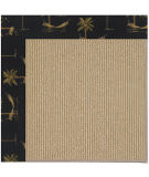 RugStudio presents Capel Zoe-Sisal 108474 Jet Black Area Rug