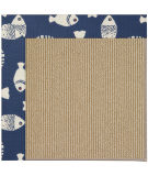 RugStudio presents Capel Zoe-Sisal 108479 Pitch Area Rug