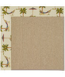 RugStudio presents Capel Zoe-Sisal 108468 Beige Area Rug