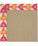 RugStudio presents Capel Zoe-Sisal 108467 Autumn Area Rug
