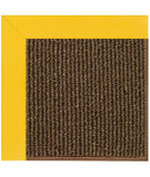 RugStudio presents Capel Zoe-Java Sisal 108445 Summertime Yellow Area Rug